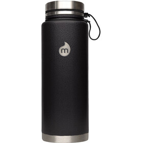 MIZU V12 Insulated Bottle with V-Lid 1200ml Black Hammer Paint